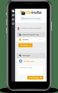 FileInvite-client-portal-mobile